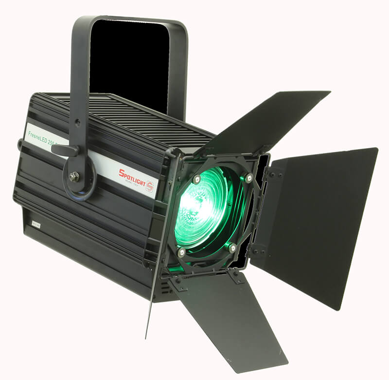 Projector and spotlight