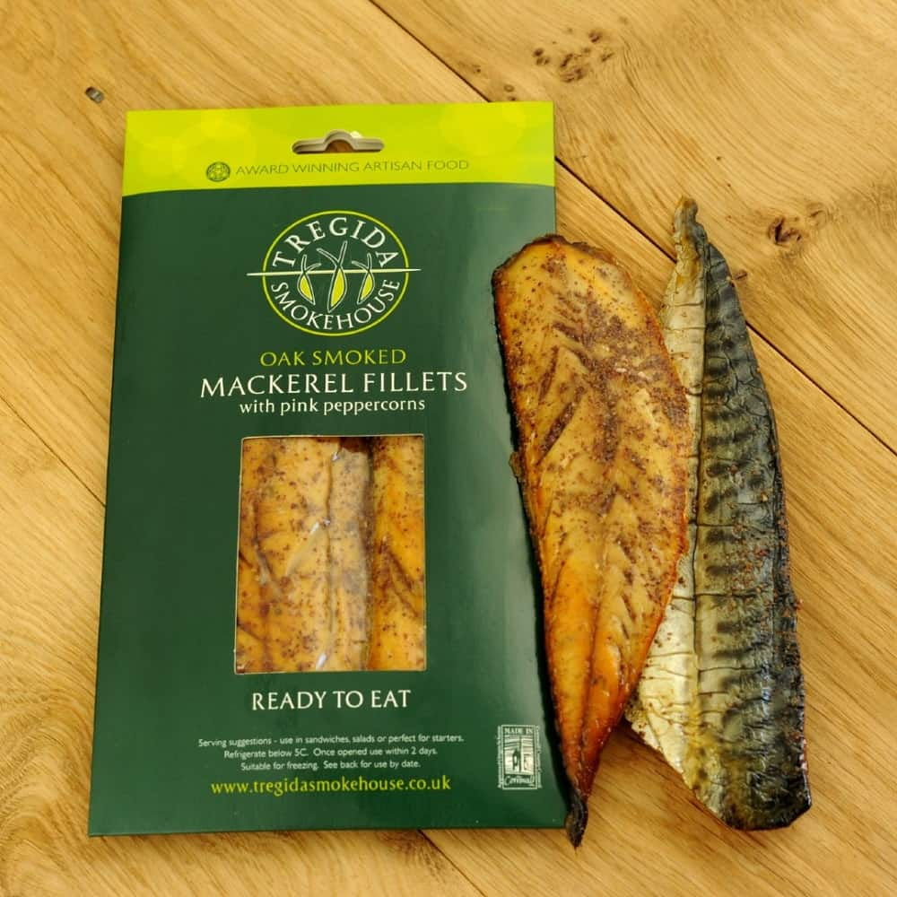 Pack of smoked fish fillets