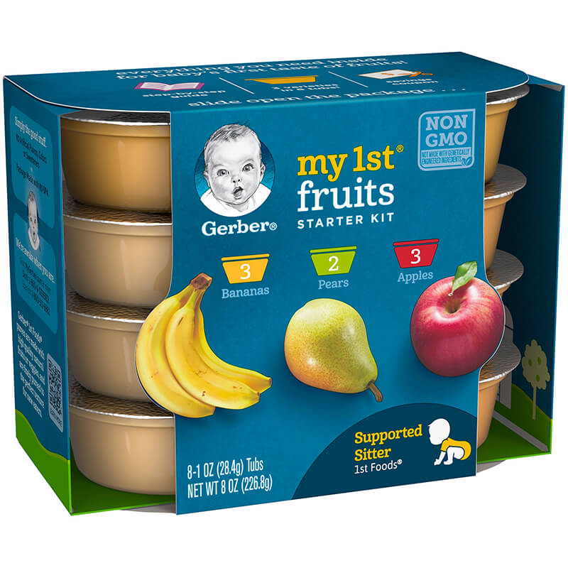 Baby food from fruit